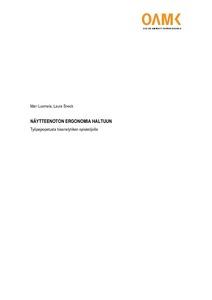 Näytteenoton ergonomia haltuun   Työpajaopetusta bioanalytiikan  opiskelijoille  65326b7239