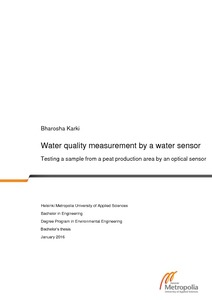 water quality research papers pdf