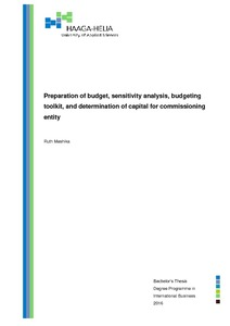 Sensitivity Analysis Pdf