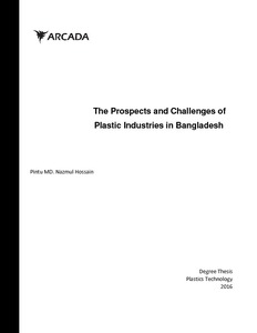The prospects and challenges of plastic industries in Bangladesh
