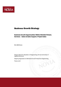 Business Growth Strategy : Business Growth Opportunities within