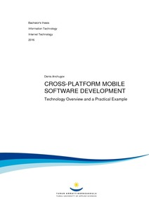 Cross-platform mobile software development : technology overview and