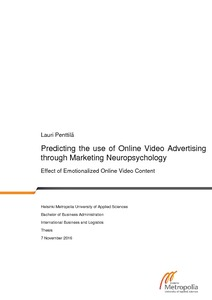Predicting the use of Online Video Advertising through Marketing