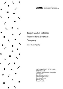 Target market selection process for a software company fandeluxe Choice Image