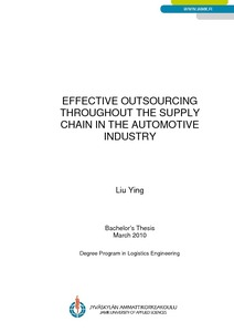 automotive outsourcing