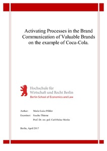 Activating Processes in the Brand Communication of Valuable Brands