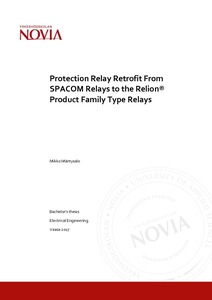Protection Relay Retrofit From SPACOM Relays to the Relion® Product