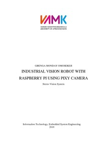 Industrial Vision Robot with Raspberry Pi using Pixy Camera