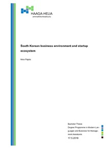 business environment thesis