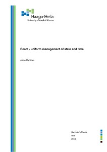 React - Uniform management of state and time