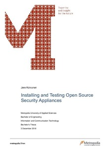 Installing and Testing Open Source Security Appliances