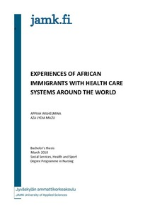 A review of the experiences of African immigrants with