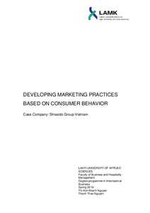 Developing Marketing Practices Based on Consumer Behavior