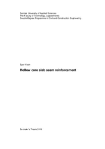 Hollow core slab seam reinforcement
