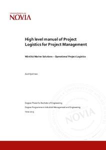 Project Logistics Pdf
