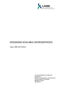 DESIGNING SCALABLE MICROSERVICES