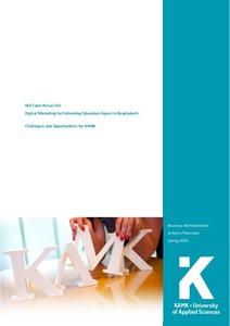 Digital Marketing for Enhancing Education Export in