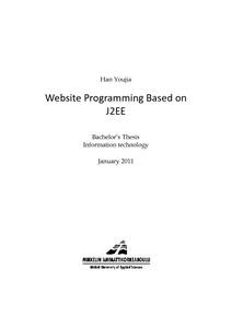 Website Programming Based on J2EE