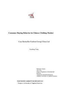 Consumer buying behavior in chinese clothing market case bestseller consumer buying behavior in chinese clothing market case bestseller fashion group china ltd fandeluxe Gallery
