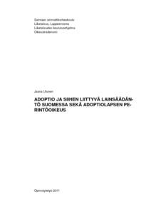 lainsäädäntö suomessa