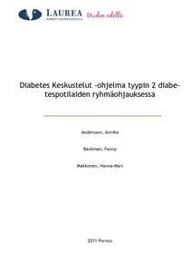diabetes diabetes keskustelut