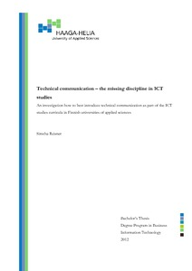 Pdf technical communication