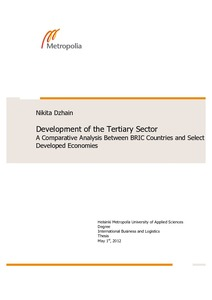 role of tertiary sector in economic development