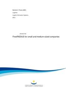 FreeRADIUS for small and medium-sized companies