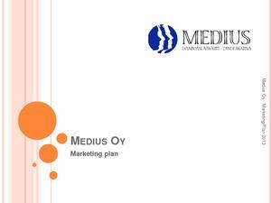 Markkinointisuunnitelma Opinnäytetyö