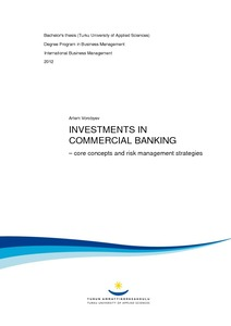 INVESTMENTS IN COMMERCIAL BANKING