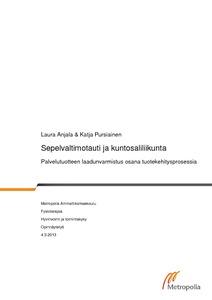 Sepelvaltimotauti ja kuntosaliliikunta   palvelutuotteen laadunvarmistus  osana tuotekehitysprosessia  e64e251406