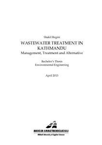 Treatment pdf wastewater