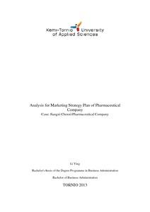 marketing strategy pharmaceutical companies
