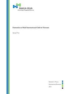 Formation of Skål International Club in Vietnam