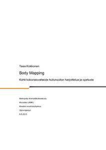 Body Mapping   kohti kokonaisvaltaista huilunsoiton harjoittelua ja  opetusta  700c3b6f24