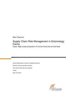 Annual Risk Report